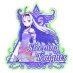 ソードアート・オンライン トラベルステッカー (4) ユウキ(Sleeping Knights)[エンスカイ]《03月予約》
