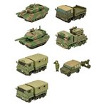 チビスケ 陸上自衛隊車両 10個入りBOX (食玩)[エフトイズ]《04月予約》