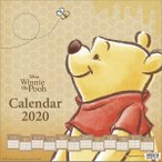 Yahoo!あみあみ Yahoo!店くまのプーさん 2020年カレンダー[サンスター文具]《取り寄せ※暫定》