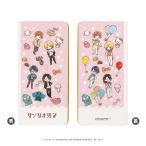 合皮チケットホルダー(キャメル)「サンリオ男子」01/ピンク(グラフアート)[A3]《11月予約》