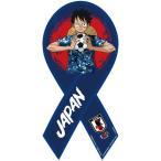 ONE PIECE リボンマグネット サッカー日本代表ver. (ルフィ)[ベストスカイ]《発売済・在庫品》