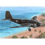 1/72 米ダグラスB-18ボロ双発爆撃機・戦中迷彩塗装 プラモデル[スペシャルホビー]《取り寄せ※暫定》