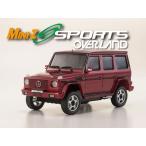 ミニッツ オーバーランドスポーツ レディセット メルセデス AMG G55L(レッド)[京商]《取り寄せ※暫定》