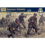 1/72 WWII-GERMAN INFANTRY(ドイツ兵) プラモデル[イタレリ]《取り寄せ※暫定》
