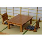 木製組立キット 和の造作 1/12 檜の座卓と座椅子のセット[コバアニ模型工房]《発売済・在庫品》