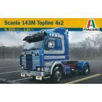 1/24 トラック&トレーラー SCANIA 143M TOPLINE 4x2 プラモデル[イタレリ]《取り寄せ※暫定》