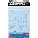 ガンダムデカール No.19 MG ガンダムMk-II(Ver.2.0)用(再販)[バンダイ]《取り寄せ※暫定》