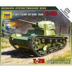 1/100 ソビエト軽戦車 プラモデル(再販)[ズベズダ]《発売済・在庫品》