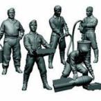 1/72 ソビエト空軍整備兵フィギュアセット プラモデル(再販)[ズベズダ]《取り寄せ※暫定》