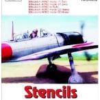 1/48 三菱A6M2 零式艦上戦闘機一一/二一型 ステンシル(コーションマーク「ノルナ」等)[Hモデルデカール]《02月予約※暫定》