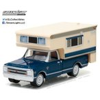 1/64 1968 Chevy C10 Cheyenne with Large Camper (Hobby Exclusive)[グリーンライト]《07月仮予約》