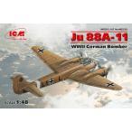 1/48 ユンカース Ju88A-11 爆撃機 プラモデル[ICM]《04月仮予約》