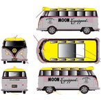 1/24 scale Mooneyes 1959 VW Microbus Deluxe U.S.A. Model[M2 Machines]《03月仮予約》