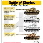 "1/48 VI号戦車ティーガーI ハリコフの戦い パート2 「戦車連隊""ダスライヒ""」 デカール[Hモデルデカール]《07月予約※暫定》"