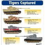 1/48 VI号戦車ティーガーI 「捕獲車」 デカール[Hモデルデカール]《07月予約※暫定》