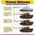 1/48 VI号戦車ティーガーI ヴィットマン 「SS第101重戦車大隊」 デカール[Hモデルデカール]《09月予約※暫定》