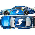 1/24 NASCAR Cup Series 2017 シボレー SS Microsoft #5 Kasey Kahne Chrome[Lionel Racing]《在庫切れ》