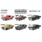 1/64 Hollywood Series - SERIES 18 6個入りアソート[グリーンライト]《11月仮予約》