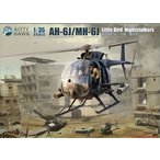 1/35 AH-6J/MH-6J リトルバードナイトストーカーズ プラモデル[キティホークモデル]《10月予約》