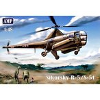 1/48 米・シコルスキー R-5/S-51救難ヘリコプター プラモデル(再販)[AVIS]《09月予約※暫定》