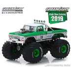 1/64 1974 Ford F-250 Monster Truck - #19 GreenLight Racing Team - 2019 GreenLight Trade Show Exclusive[グリーンライト]《01月仮予約》