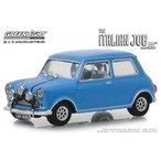 1/43 The Italian Job (1696) - 1967 Austin Mini Cooper S 1275 MkI - Blue with Black Leather Straps[グリーンライト]《05月仮予約》