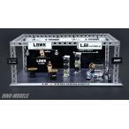 1/64 LBWK オートサロン ジオラマ 997 LBWK Chrome、フィギュア3体付属[INNO Models]《10月仮予約》