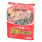 東洋水産 マルちゃん ふっくらお赤飯(3個パック) 160g×3
