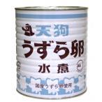 天狗缶詰 国産 うずら卵水煮 1620g
