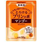 ポッカサッポロ 業務用とろけるプリンの素(マンゴー)300g