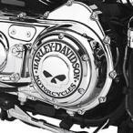 25440-04A ウイリーG・スカル・コレクション ダービーカバー 【ハーレー純正カスタムパーツ】