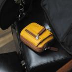 ベルトポーチ メンズ 革 レザー 鞄 名入れ ペニッシュミント ミニウェストポーチ 222