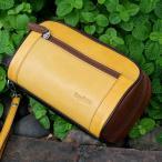 セカンドバッグ  メンズ 革 レザー 鞄 名入れ ペニッシュミント ビッグツアー 804