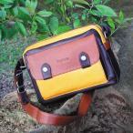 ショルダーバッグ メンズ 革 レザー  鞄 名入れ ペニッシュミント オリジナルショルダーバッグ 594