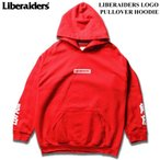 Liberaiders リベレイダーズ スウェット パーカー LIBERAIDERS LOGO PULLOVER HOODIE プルオーバーパーカ スウェットパーカー スウェットフーディー