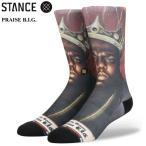 STANCE スタンス SOCKS ソックス 靴下 PRAISE B.I.G. ノトーリアスB.I.G. ハイソックス