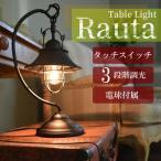 RAUTA ラウタ テーブルライト ライト 寝室 玄関 トイレ 階段 廊下 洗面所 カウンター インテリア レトロ アンティーク アイアン スチール