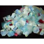 ローズペタルプラス (羽根と花びらのフラワーシャワー) オリジナル ブルー ブレンド