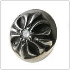 クロムハーツ(Chrome Hearts)ピアス クロスボール ウィズ ダイヤモンド