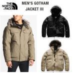 ショッピングNORTH The North Face ノースフェース Gotham Jacket III ゴッサム ファー付き ダウンジャケット メンズ 黒 2018年モデル 正規品・送料無料・US直輸入