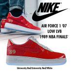 Nike AIR FORCE 1 Low 1989 NBA Finals エアフォース1 レッド メンズ スニーカー ナイキ CI9882-600  正規品 送料無料 US直輸入