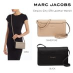 Marc Jacobs マークジェイコブス Empire City STR Leather Wallet エンパイア シティ バッグ 財布 お財布ポシェット 正規品・送料無料 US直輸入