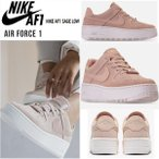 新作! Nike ナイキ エアフォース1 Sage Low 厚底 レディース スニーカー パーティクルベージュ Particle Beige 正規品 送料無料 US直輸入