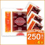 送料無料 業務用 餃子 たれ ぎょうざ ラー油 餃子のたれ(W)(8g×250食入×4袋) コブクロ
