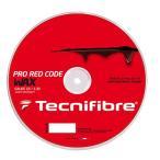 テクニファイバー プロ レッドコード ワックス 200Mロール (120/125/130) 硬式テニス ポリエステル ガット(TECNIFIBRE RED CODE WAX 200M Reel)【2016年5月】