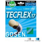 【パッケージ品】ゴーセン テックガット テックフレックス16(1.30mm)/17(1.23mm) 硬式テニスガット マルチフィラメント(Gosen TecFlex 16/17)TS670/TS671