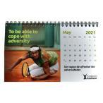[2021年版]ラファエル・ナダル(Rafa Nadal) RAFA NADAL 卓上カレンダー デスクトップカレンダー FUN CALPEQ21(20y12m)