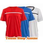 【値下げ】ウィルソン ジュニア(ボーイズ) 2016 クルーゲームシャツ (WRA7257)Wilson Boy's Team Crew【2016年1月登録 テニスウェア】