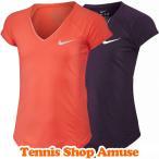 テニスショップ アミュゼで買える「在庫処分特価】【子供用】ナイキ(Nike ジュニア(ガールズ ウィンター ピュア トップ ゲームシャツ (832334【テニスウェア」の画像です。価格は999円になります。