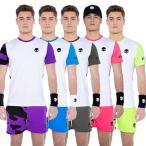 [テニススぺシャル]「海外サイズ」HYDROGEN(ハイドロゲン) 2021 メンズ TECH テック カモフラ柄 半袖Tシャツ T00450(21y7mテニス)